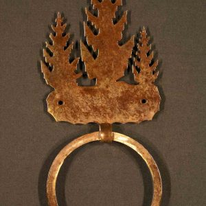 Pine Tree Towel Ring