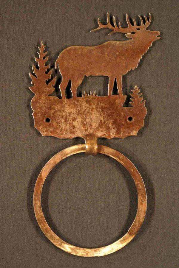 Elk Towel Ring