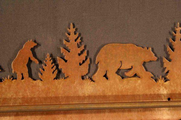 Bear Towel Bars