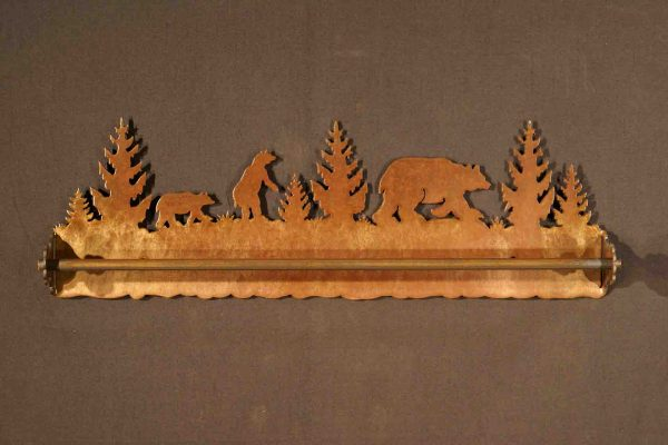 Bear Towel Bars