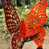 Butterfly Chair Sparkle Copper Red