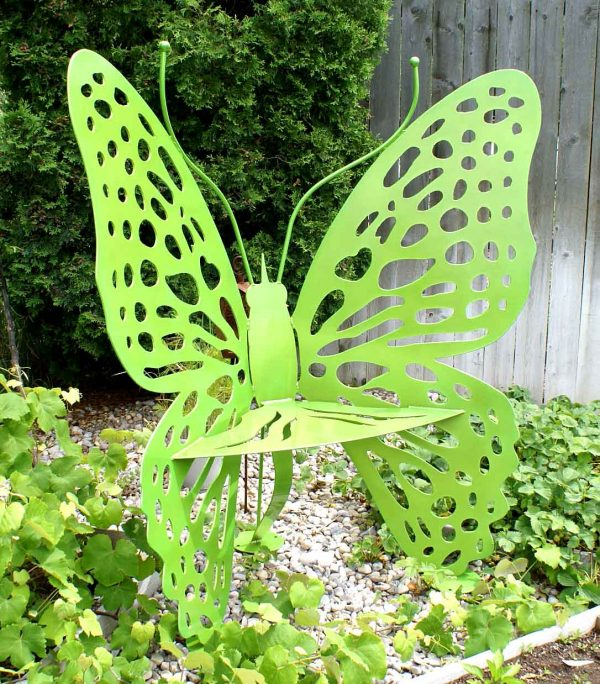Butterfly Chair Sparkle Chartreuse Green