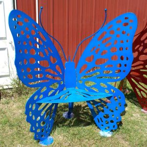 Butterfly Chair Sparkle Sky Blue