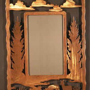 Buck Frame Scene Mirror