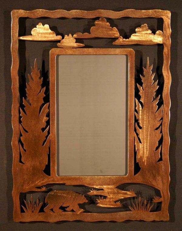 Bear Frame Scene Mirror