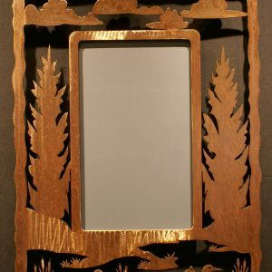 Loon Frame Scene Mirror