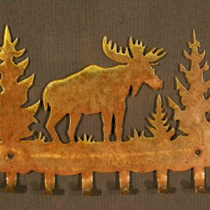 Moose Key Holder Hook