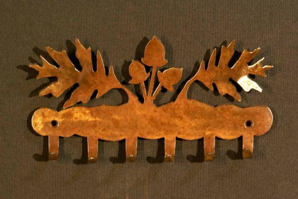 Oak Leaf key Holder Hook