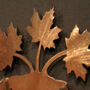 Maple Leaf Toilet Paper Holder