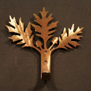 Oak Leaf Robe Hook