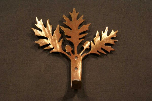 Oak Leaf Robe Hook