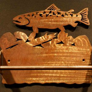 Trout Paper Towel Holder