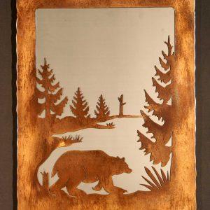 Bear Scene Mirror