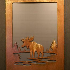 Moose Scene Mirror
