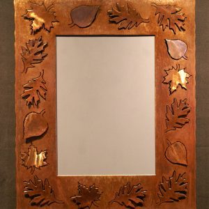 Leaf Silhouette Mirror