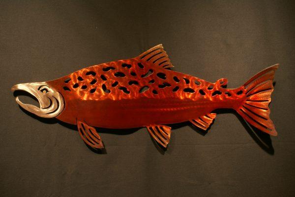 "Sockeye Salmon 34"" Silhouette"