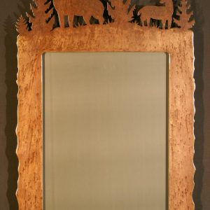 Buck Doe Scene Top Mirror