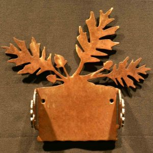 Oak Leaf Toilet Paper Holder