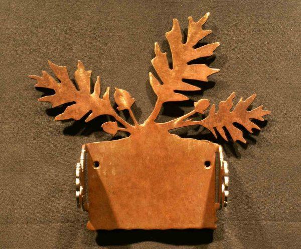 Oak Leaf Toilet Paper Holder