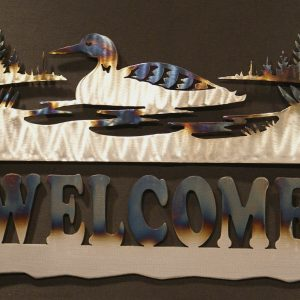 Loon Welcome Sign 24""