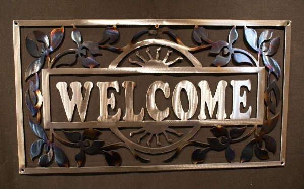 Orchid Welcome Sign 24