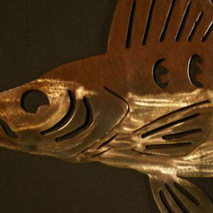 """Walleye 34"""" Silhouette"""