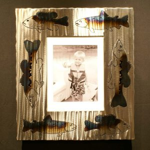 Bass Trout Bluegill Picture Frame 1x8x10