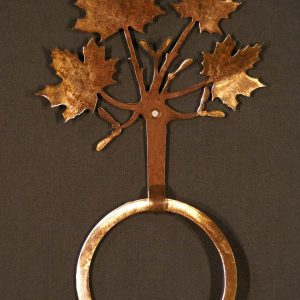 Maple Leaf Towel Ring-0