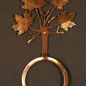 Maple Leaf Towel Ring-0