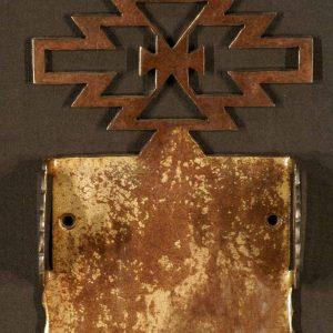 Aztec Toilet Paper Holder