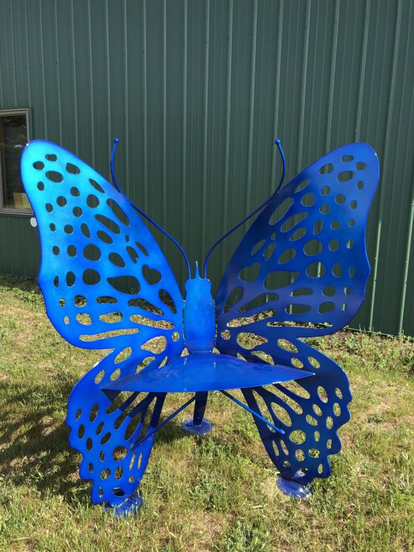 Butterfly Chair Candy Blue