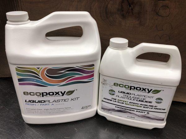 EcoPoxy Liquid Plastic 2:1 Ratio 6L Kit