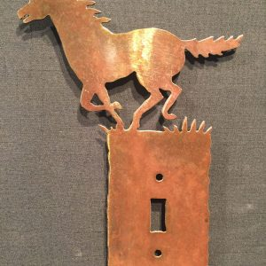 Horse Light Switch Plate Covers