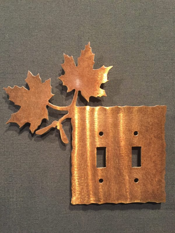 Maple Leaf Light Switch Plate Covers