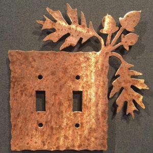 Oak Leaf Light Switch Plate Covers