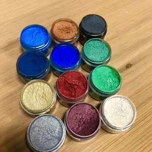 EcoPoxy Metallic Color Pigments