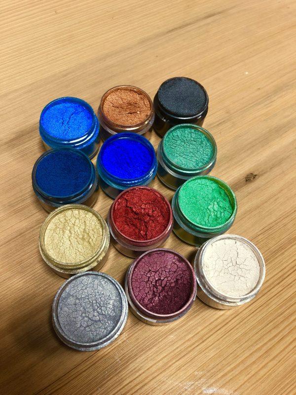 EcoPoxy Metallic Color Pigments