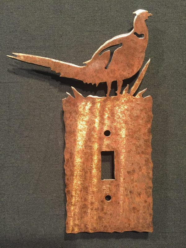 Pheasant Light Switch Plate Covers