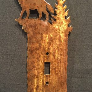 Wolf Light Switch Plate Covers