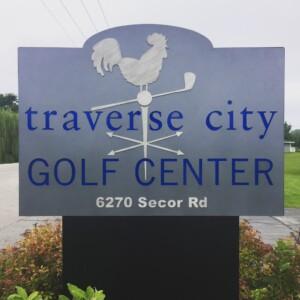 Traverse City Golf Center Sign